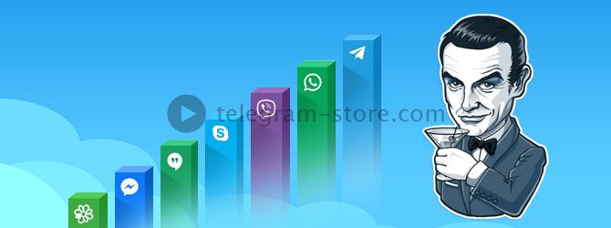 Шифрование Телеграмм самое высокое среди остальных мессенджеров