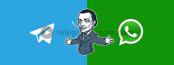 Мессенджер WhatsApp против Telegram