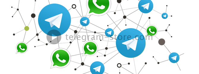 Members of Telegram and WhatsApp users