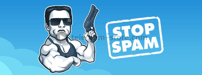 Stop spam in the messenger