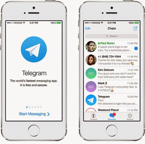 Программа Телеграмм для Айфона