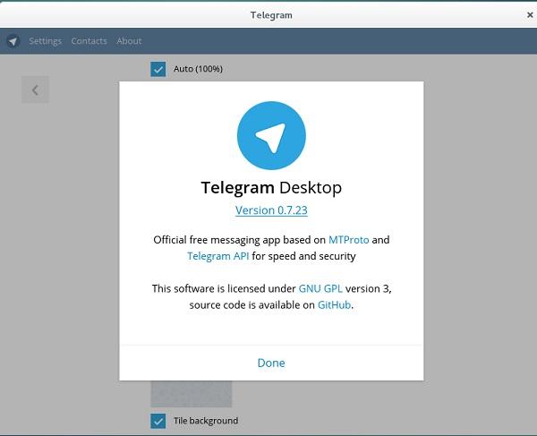 Приложение Telegram на русском языке