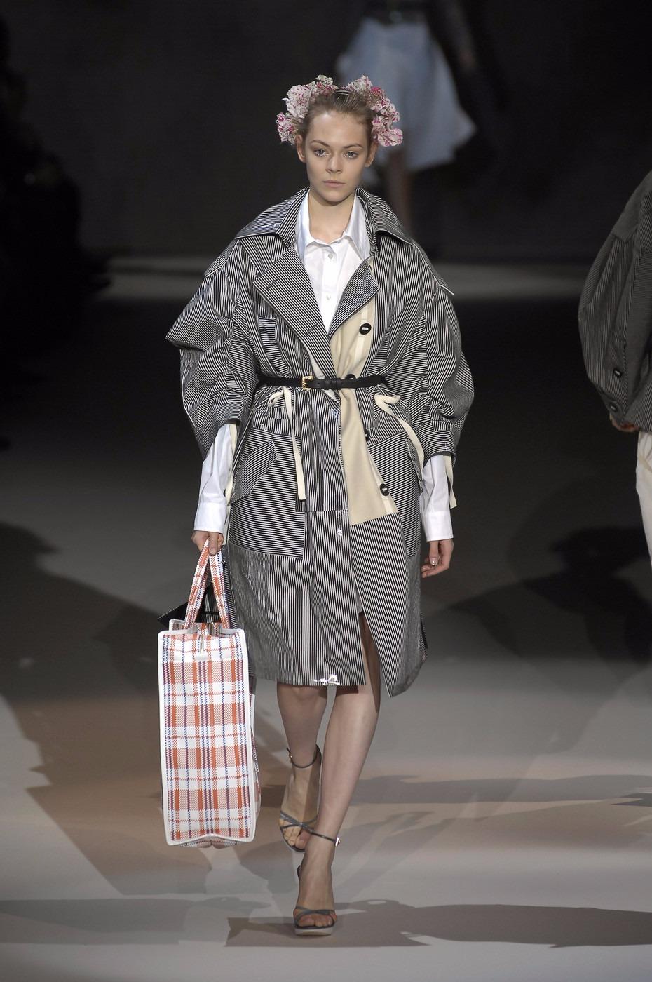 Модная клетчатая сумка бомжа