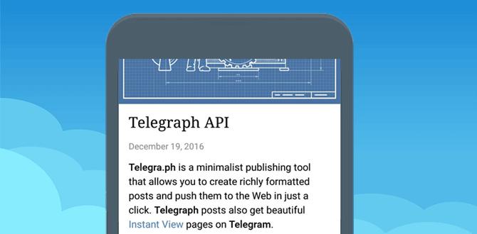 Возможности, которые предоставляет Телеграф