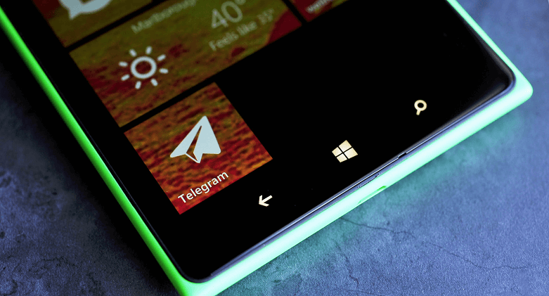 Download telegram for Windows Phone on Telegram-store