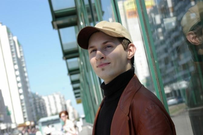 Молодой Павел Дуров на старте своей карьеры
