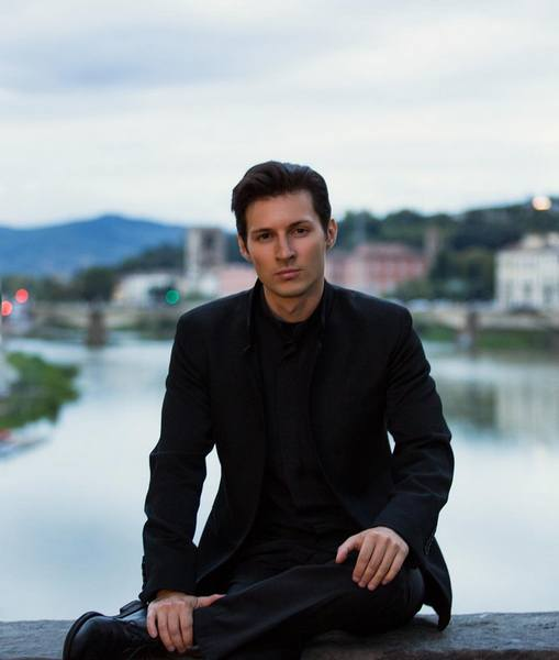 Pavel Durov in an expensive suit